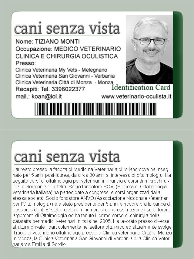 ID Card Dr Monti